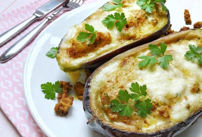 Aubergines Farcies Recette Cookeo