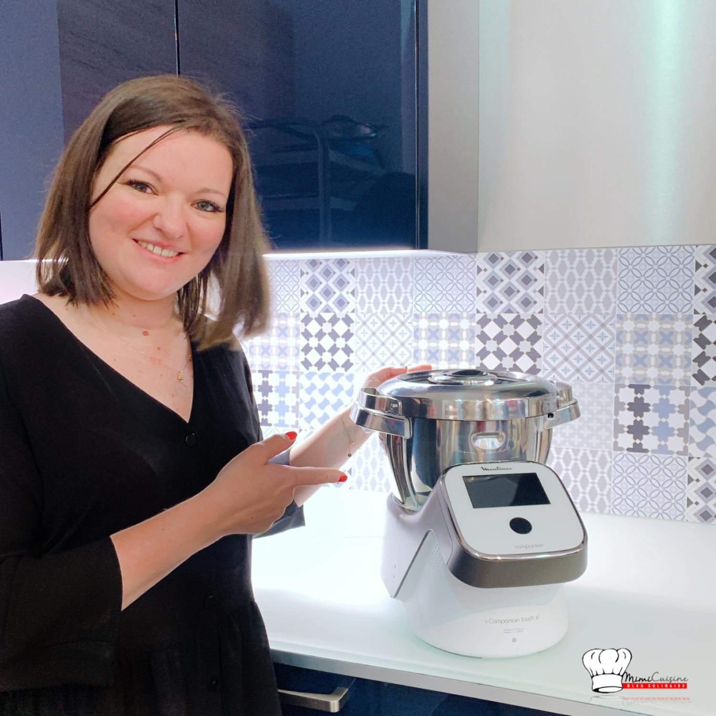 Le robot cuiseur Moulinex i-Companion XL se décline en édition pâtisserie