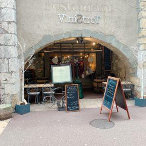 Vinistrot restaurant annecy