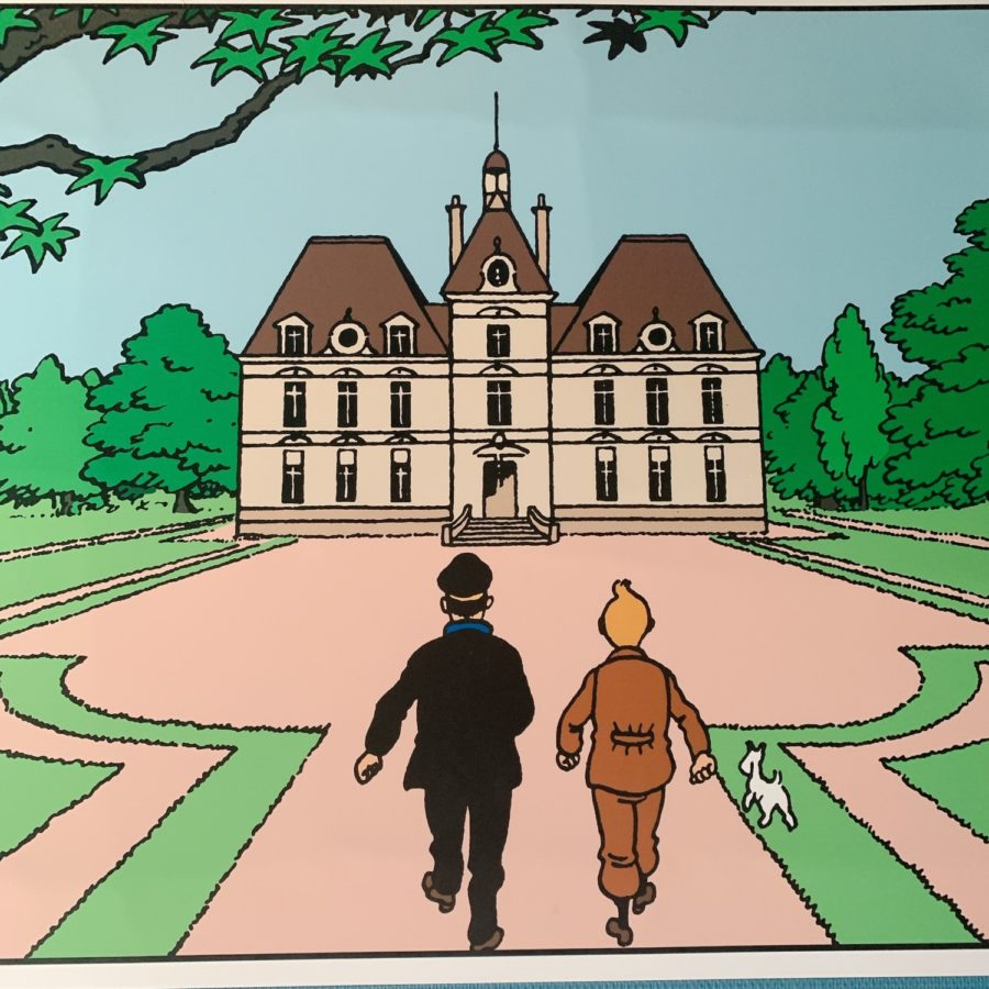 chateau cheverny exposition tintin et milou