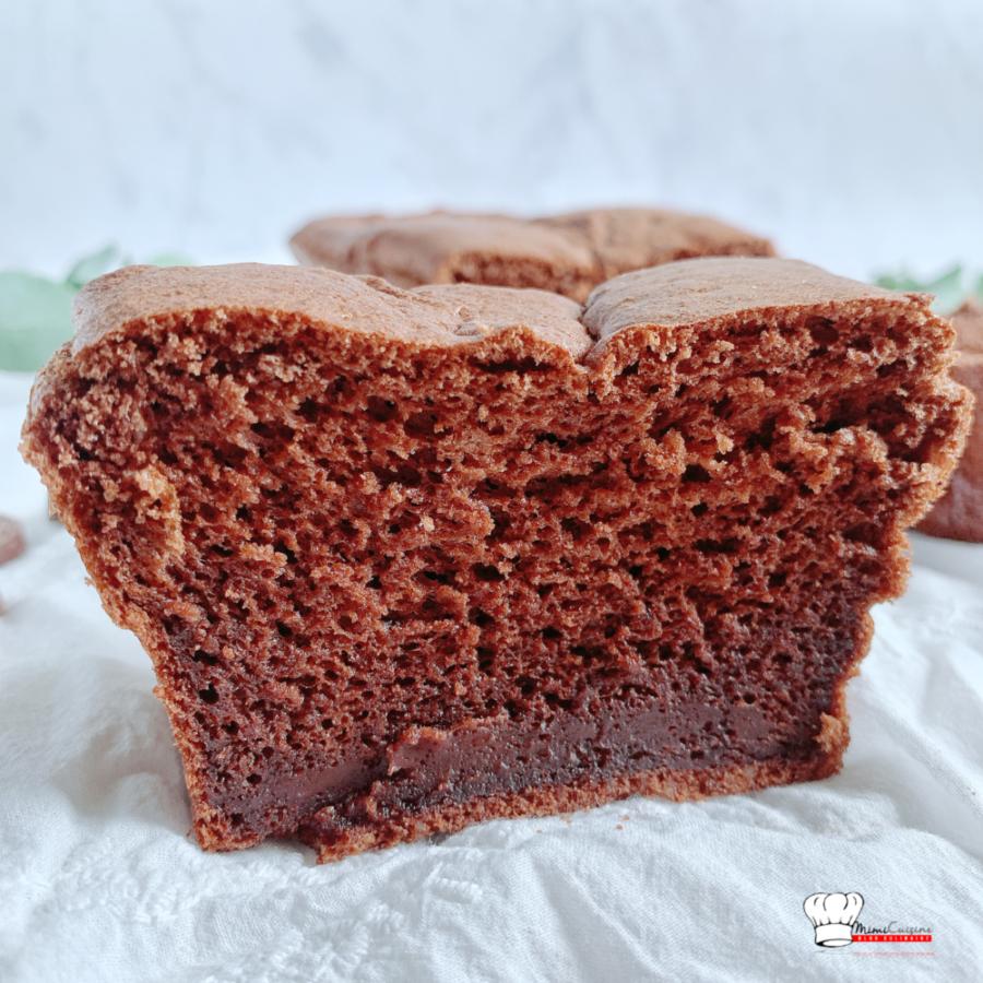 Gâteau chocolat sans sucre et sans beurre au Companion
