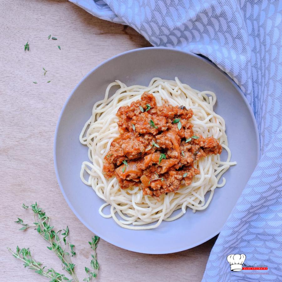 Spaghetti bolognaise Pasta Maker