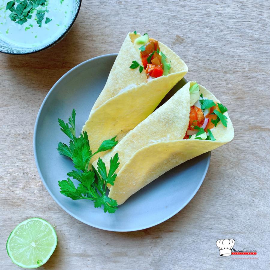 Tacos Poulet & épices Recette Cookeo