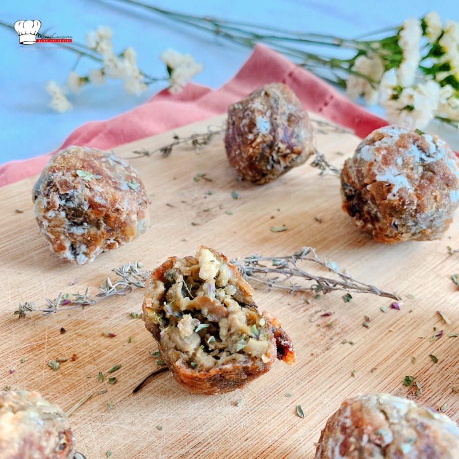 Boulettes aubergines et Pignons de Pin Recette Companion