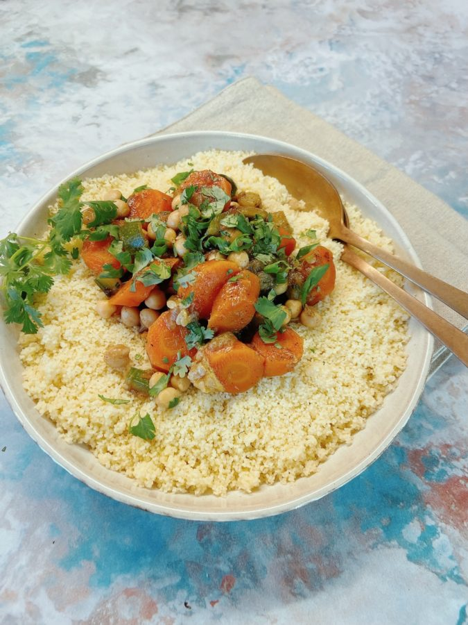 Couscous Veggie Recette Cookeo