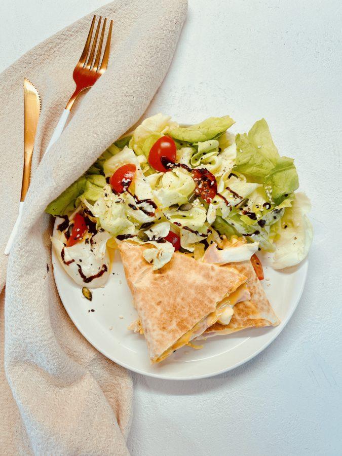 Wrap Tortilla Cheddar Mozzarella